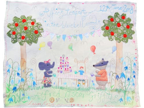 Alfies-Tea-Party-in-the-Bluebell-Woods-Commission-Laura-Rose-Textiles