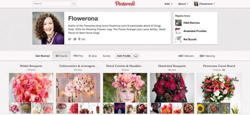 Flowerona-Pinterest