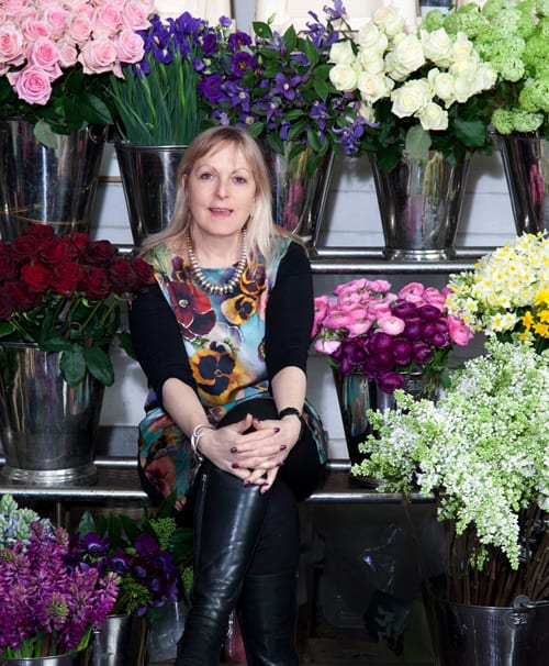 Paula Pryke will be holding two floristry demonstrations in Guildford this March
