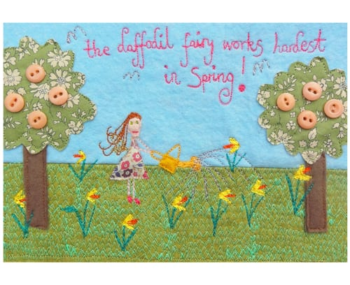 The-Daffodil-Fairy-works-hardest-in-Spring-Laura-Rose-Textiles