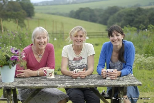 Interview with Penny, Rebecca & Marion of The Garden Gate Flower Company