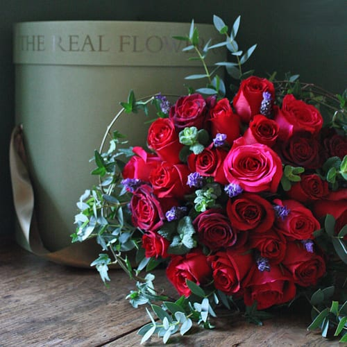 The-Real-Flower-Company-Valentine's-Day-Bouquet