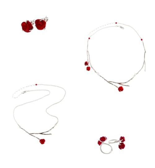 Claire Hart Design - Rose Jewellery