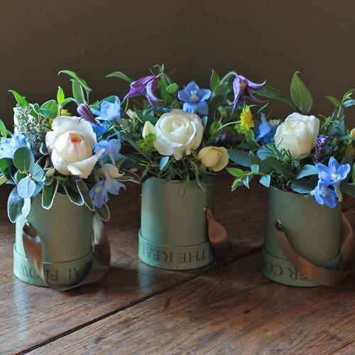 the_real_flower_company_ivory_and_blue_hat_box_trio