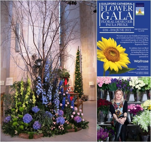 Guildford Cathedral Flower Gala – A Festival of Flowers : June 6th-8th 2013