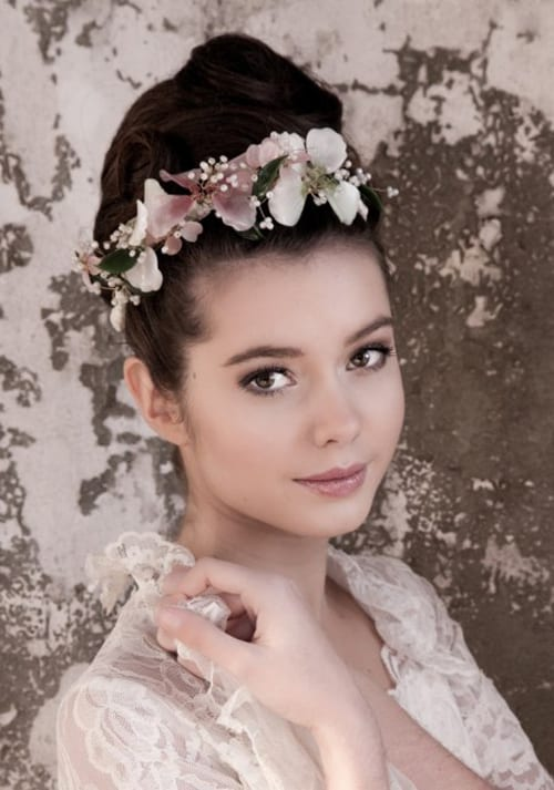 Exquisite floral-inspired bridal headpieces from Parant Parant