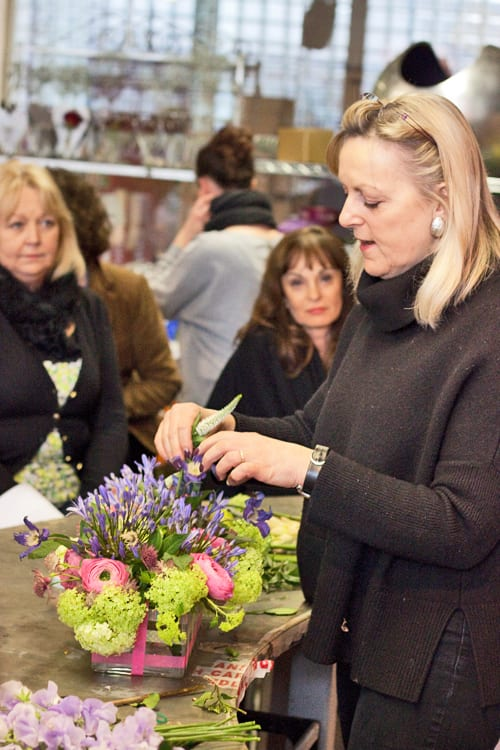 Four Day Intensive Course at the Paula Pryke Flower School : Part 1