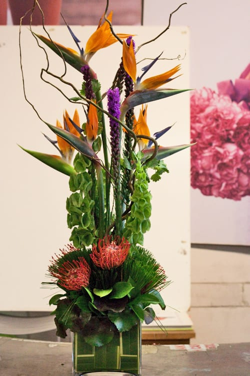 Rona Flower Baskets : Four day intensive course at the paula pryke flower school