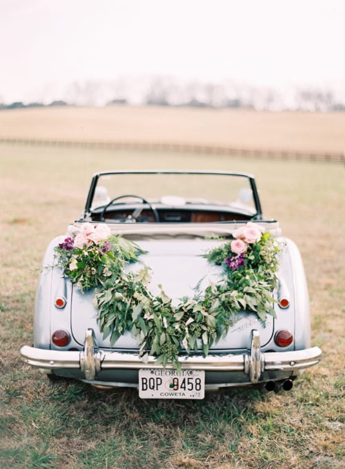 wedding-car-garland-Odalys-Mendez