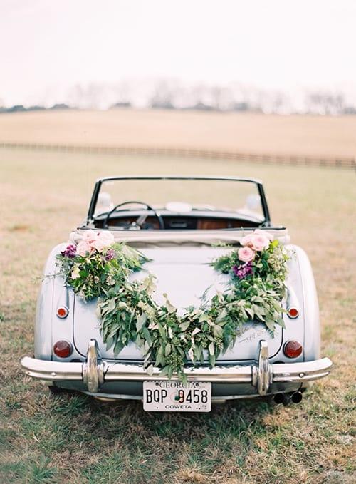 wedding-car-garland-Odalys-Mendez