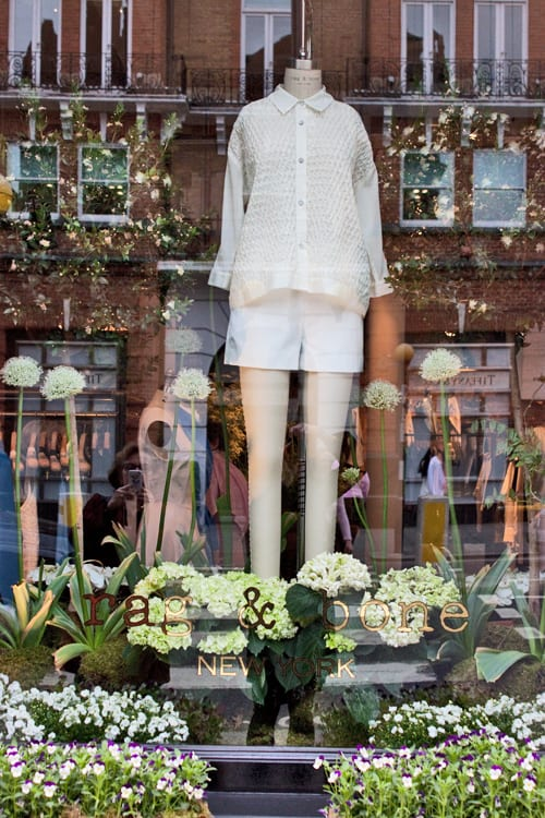 Chelsea in Bloom 2013 : Part 1 – The Winner – Rag & Bone