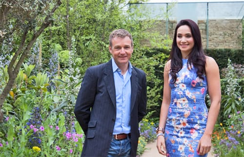 Celebrities at Press Day at the RHS Chelsea Flower Show 2013
