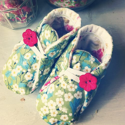 Fiona-Humberstone-Floral-Baby-Booties