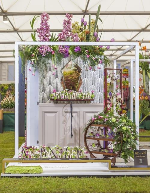 RHS Chelsea Flower Show 2013 – Interflora's Stand