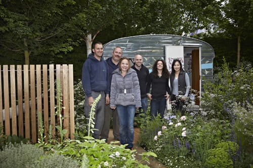 RHS Chelsea Flower Show – Jo Thompson's Show Garden for Fera