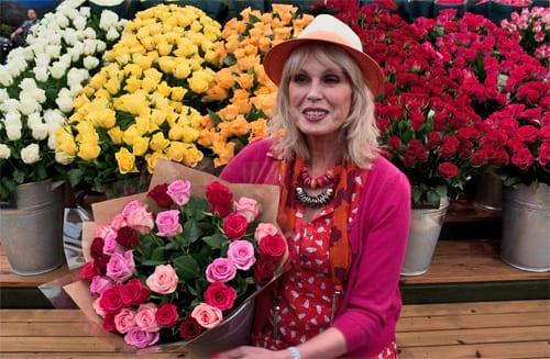 Joanna-Lumley-Marks-&-Spencer-RHS-Chelsea-Flower-Show-2013-Flowerona