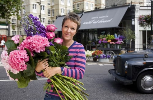 Florists taking part in the RHS Chelsea Flower Show 2013 & Chelsea in Bloom