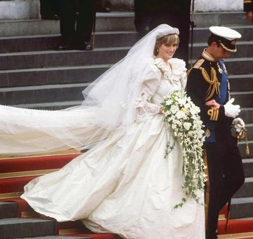 Princess-Diana Bridal Bouquet