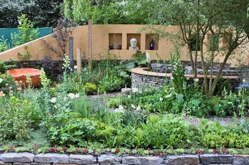 RHS-Chelsea-Flower-Show-2013-Artisan-Garden-National-Botanic-Garden-of-Wales-Flowerona