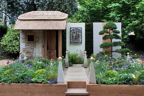 RHS-Chelsea-Flower-Show-2013-Artisan-Garden-Walkers'-Pine-Nursery-Flowerona
