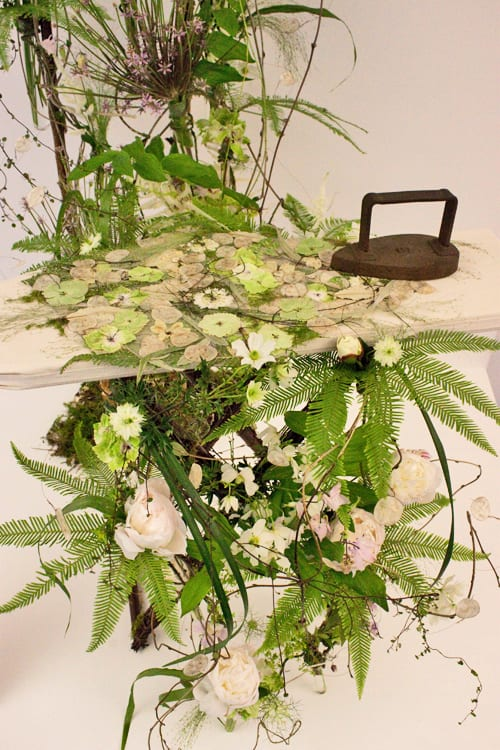 RHS Chelsea Flower Show 2013 – Stunning Floral Arrangement by Angela Turner in the Floral Design Marquee