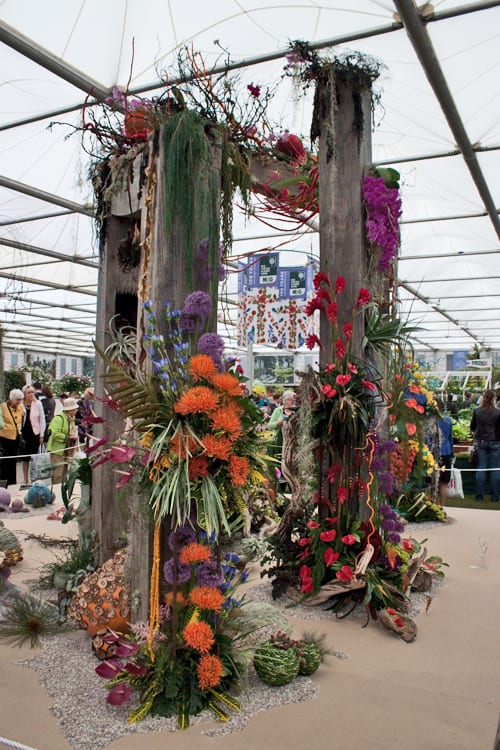 RHS Chelsea Flower Show 2013 – The NAFAS Stand