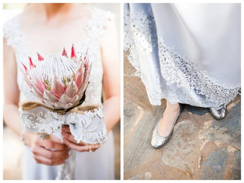 RL002-southbound-bride-real-wedding-the-bridge-muldersdrift-melanie-wessels-protea-themed-grey-dress-protea-bouquet