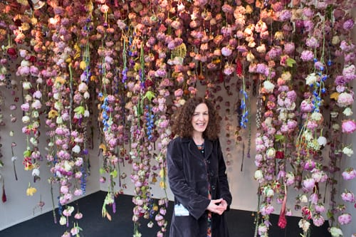 RHS Chelsea Flower Show 2013 – Floral artist Rebecca Louise Law's Stand