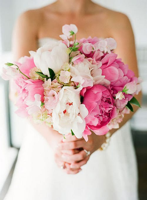 Bridal Bouquets Pink And White : Memorable wedding choosing the perfect flowers