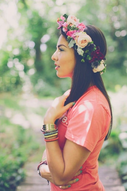 Flowerona Links: With flower crowns, peonies & a bohemian vibe…