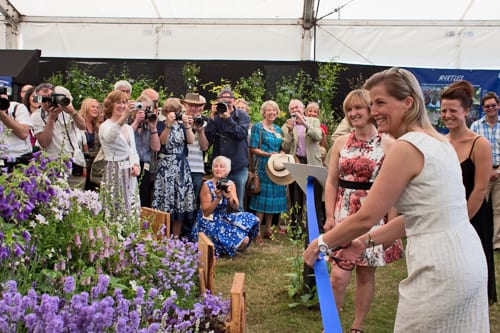 RHS Hampton Court Palace Flower Show 2013 – Celebrities on Press Day