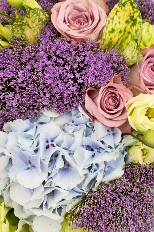 RHS Hampton Court Palace Flower Show 2013 – Jane Packer Flowers Floristry Demonstration : Part 1