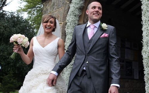 Wedding Wednesday : Jessica Ennis's wedding flowers by Katie Peckett Flowers