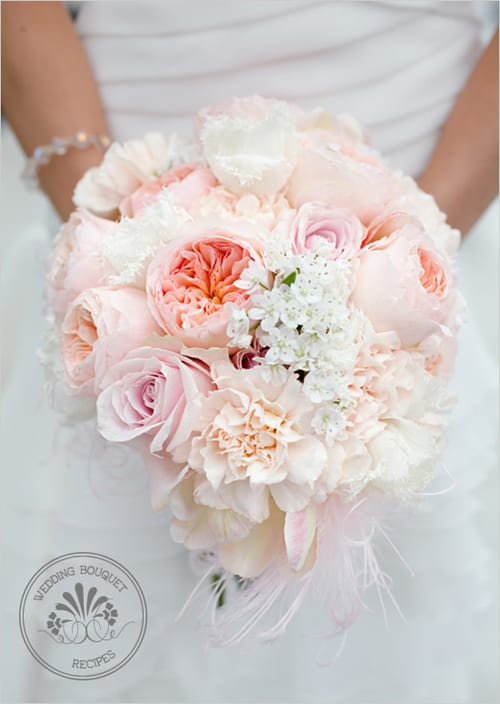 Juliet Roses Bridal Bouquet Wedding Chicks Floral Cadet The Purple