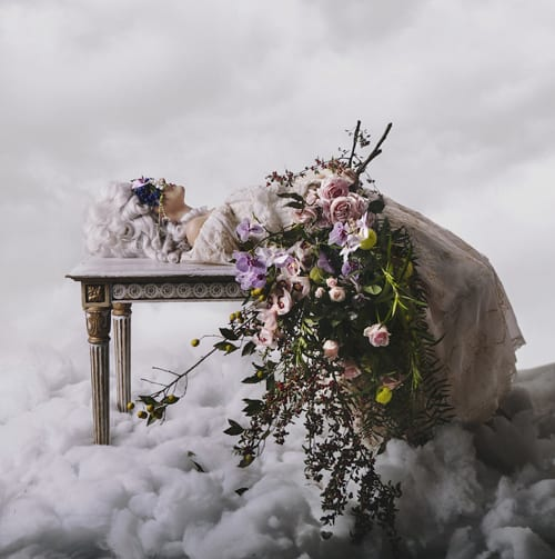 Lilli-Walters-Pomp-&-Splendour-Flowers-float-amongst-the-clouds