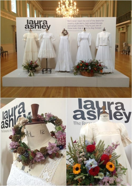 Laura Ashley Exhibition Rachel Wardley Talullah Rose Flower School Stella Doble