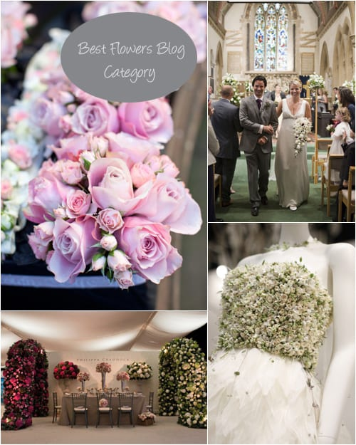 Best-Flowers-Blog Wedding Magazine Blog Awards 2013