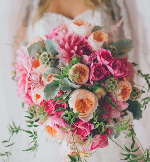 Flowerona Links: With garlands, floral crowns & a flower pot luck party