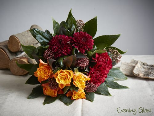 Evening_Glow-Jane-Packer-Delivered Hand Tied Bouquet