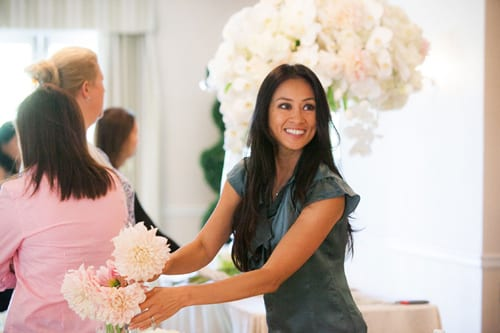 Floral & event designer Karen Tran is coming to London to teach a Master Floral Class!