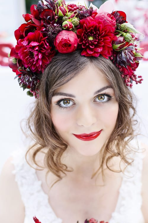 Snow-White-Flowers-by-Kirsty-Red-Flower-Crown-SLR-Photography