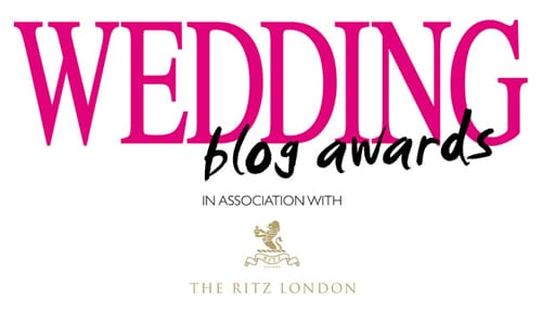 Wedding Magazine Blog Awards 2013