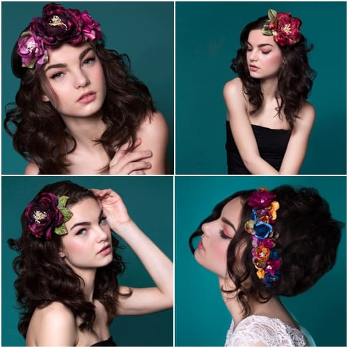 Her Curious Nature Flower Crowns