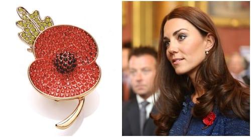 Buckley Sparkle Poppy Duchess of Cambridge