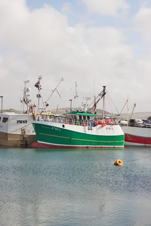 Cornwall-Holiday-Flowerona-Fishing Boats