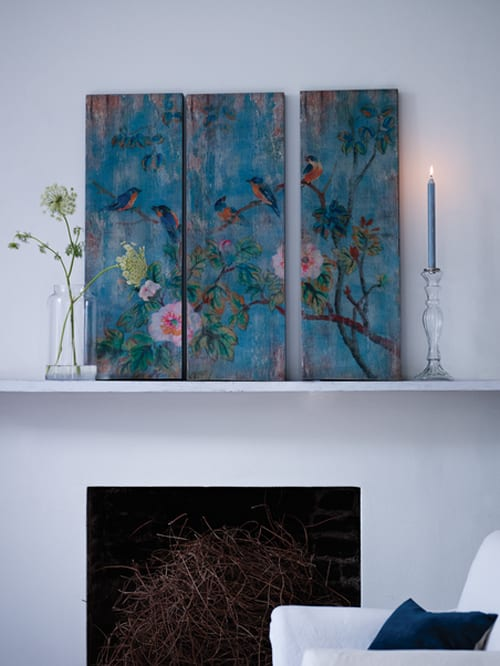 Cox-&-Cox-Birds-&-Flowers-Wall-Panels