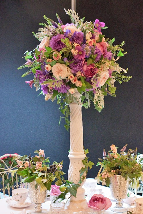 Foxgloves-&-Roses-National-Wedding-Show-2013-Flowerona-3