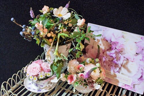 Foxgloves & Roses at the National Wedding Show – September 2013