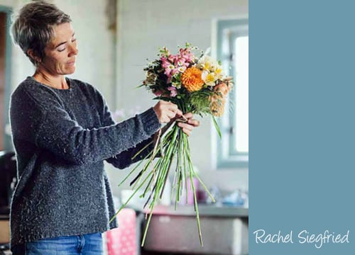 Interview With :   Rachel Siegfried, Florist and Co-Founder of founders of Green and Gorgeous