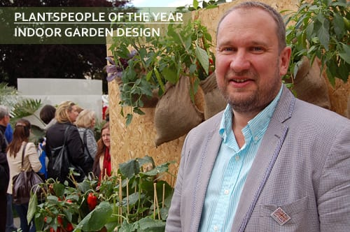 Winners of The Flower Market Awards 2013 at New Covent Garden Flower Market